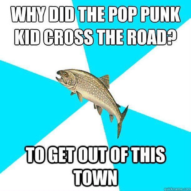 Pop punk trout