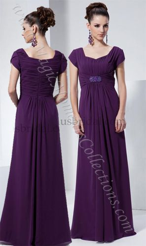 purple modest bridesmaid dresses. This is the dress that I want for my wedding!!!