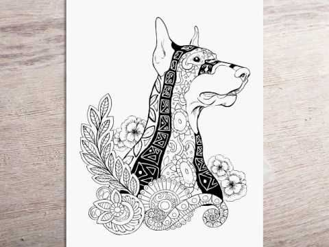 New Dog Adult Coloring Book Coming Out Soon Link To Follow