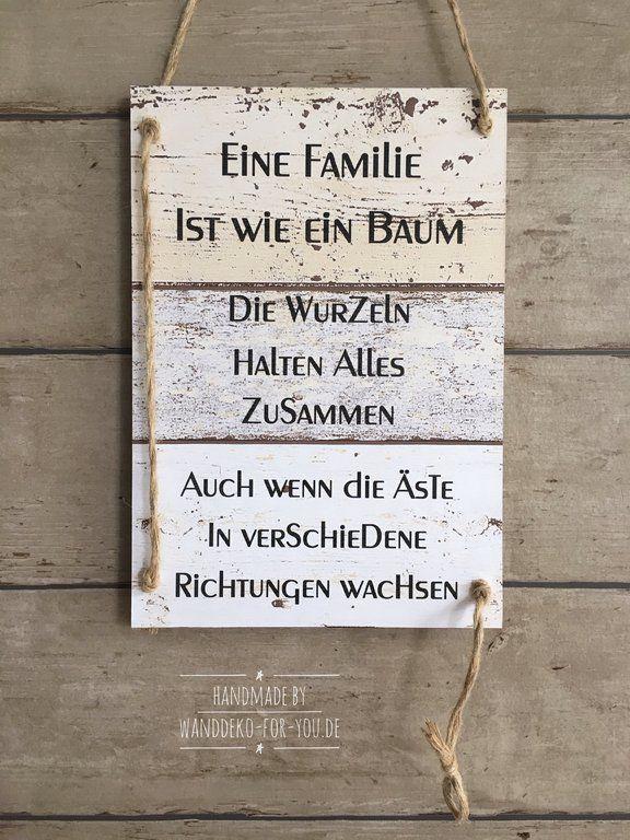 Eine Familie ist wie ein Baum...