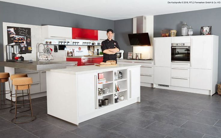 25 ide terbaik k che rot hochglanz di pinterest einbauk che ikea vitrine wei hochglanz dan. Black Bedroom Furniture Sets. Home Design Ideas