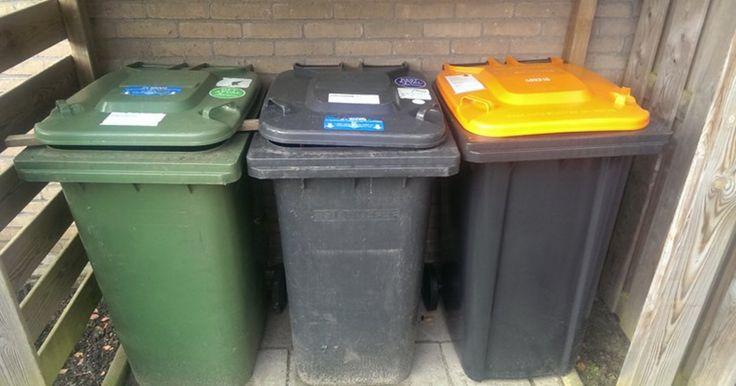 Krijg je afvalcontainer weer schoon