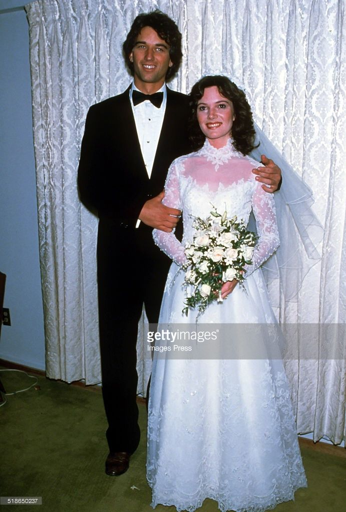 Robert F. Kennedy Jr. and Emily Ruth Black attends a photocall after getting married on April 3, 1982 in her hometown of Bloomington, Indiana.