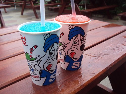 Slush puppies!