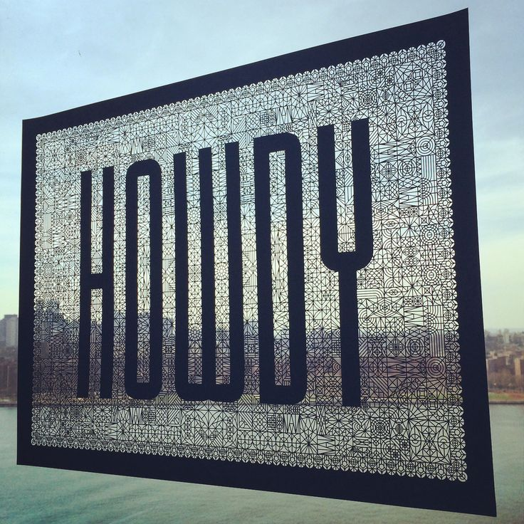"""Full 24""""x18"""" poster laser cut by Artifacture"""