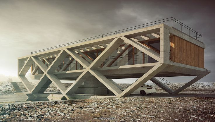"""House no. 145  """"Lele"""".Architecture, modelling, rendering and post-production: Adam Spychała"""