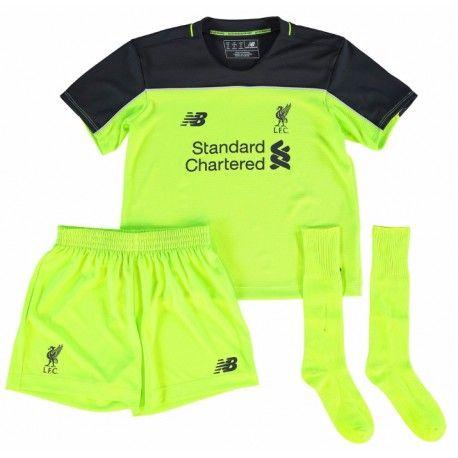 Camisetas del Liverpool para Niños Third 2016 2017