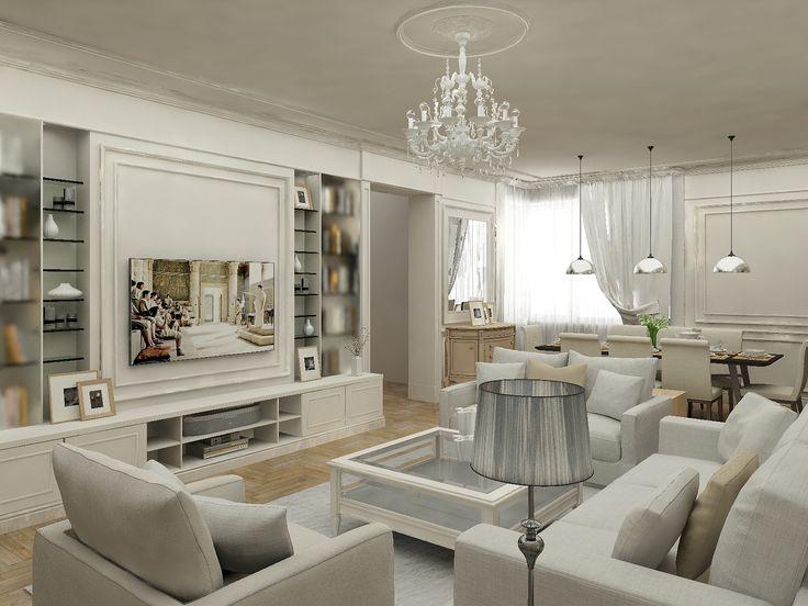 Портфолио - Квартира в комплексе Алые паруса - S&S Design