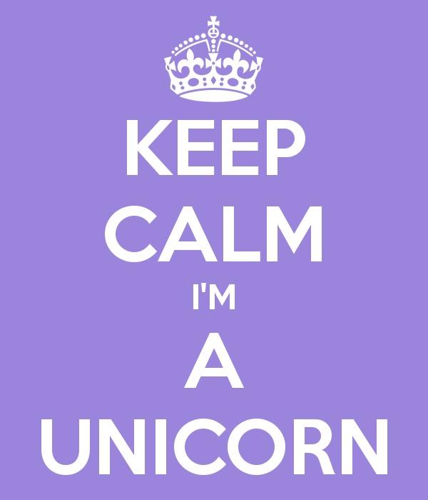 Keep Calm I'm a Unicorn