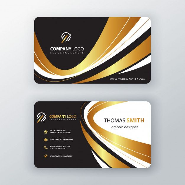 Download Luxury Elegant Business Cardornament Swirl Visit Card For