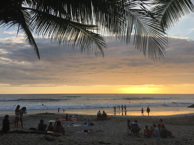 Playa Carmen an der Pazifikküste von Costa Rica
