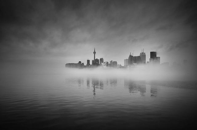 Foggy Toronto Morning