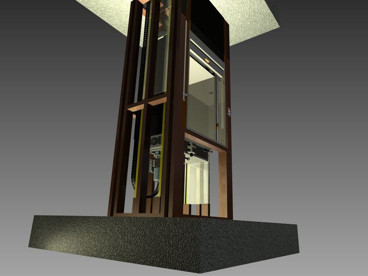 A dumbwaiter used in a typical Melbourne pub which services 3 levels - basement, kitchen and dining room.