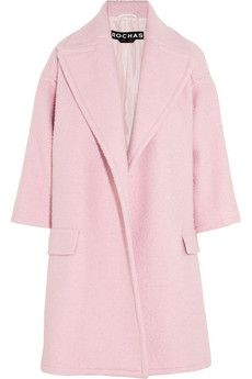 :: Pink Perfection :. #pink #coat #rochas - if it didn't cost $1,800 I would so own this coat!!