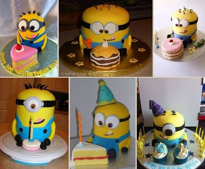 Cake decorating classes – How to make a despicable me minons cake step by step DIY tutorial instructions