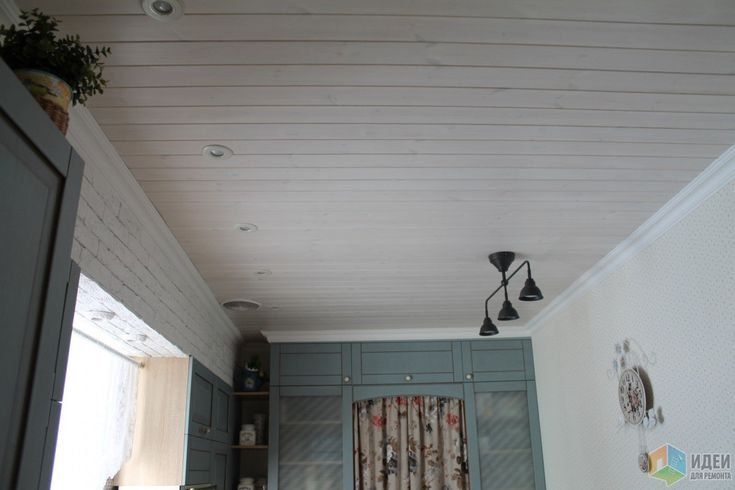 Потолок вагонка