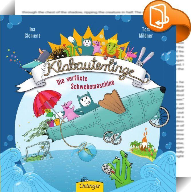 """""""Die Klabauterlinge – Die verflixte Schwebemaschine"""" Buch & Spiel!"""