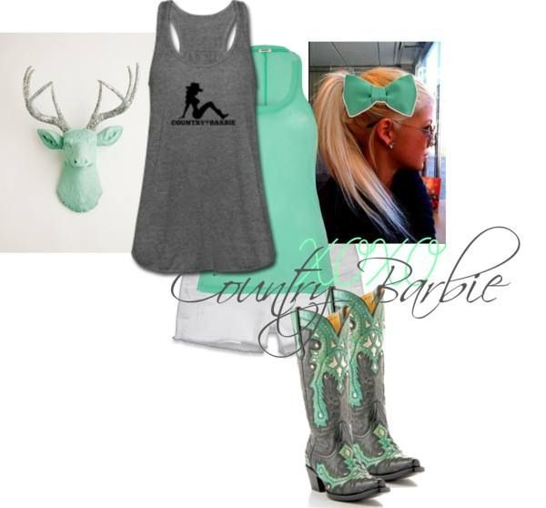 Perfect Country Girl Outfit For Summer) | Outfits 2 U2665 | Pinterest | List Me Encantas Y Encanta