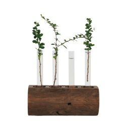 Check out Katigi Designs Tube Vase on Reclaimed Wood Stand from Tesco direct