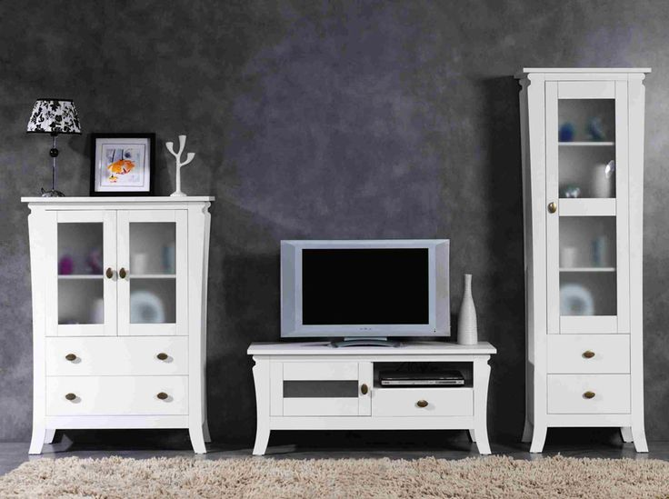 10 best images about proyecto muebles y composiciones modulares de sal n para tv on pinterest for Muebles salon lacados