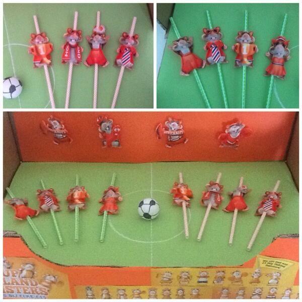 Blaasvoetbal met hamsters WK Voetbal 2014