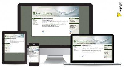 Wäfler Consulting GmbH, Biel, Flexipage, Responsive Webdesign, Internetauftritt