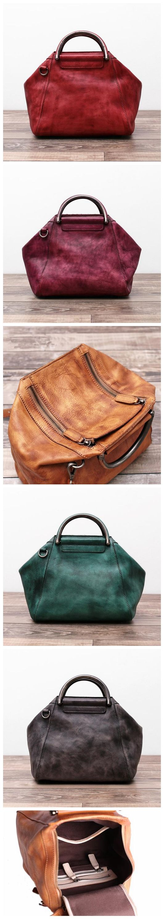 Leather Messenger Bag Women Shoulder Bag Satchel Bag WF52