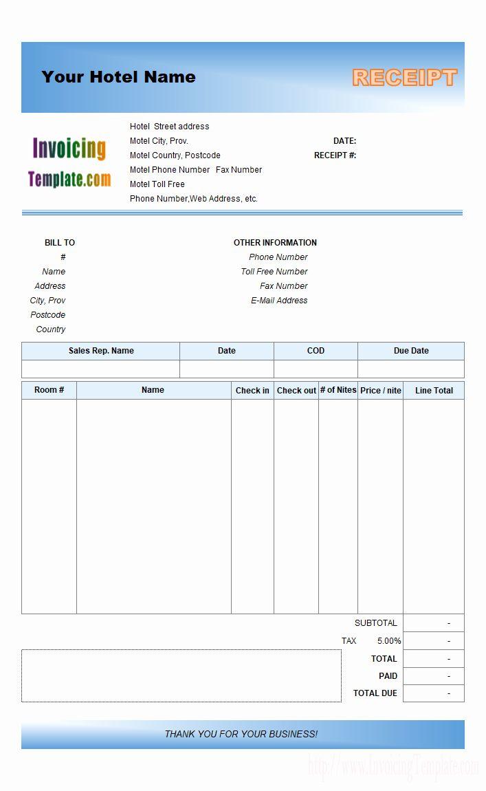 Free Proforma Invoice Template Fresh Invoice S Hotel Template Free Proforma Download Receipt Invoice Template Receipt Template Invoice Layout