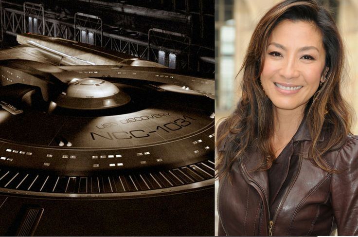 Michelle Yeoh to Star in new 'Star Trek' TV Show   Michelle Yeoh is the first star to be cast in the new TV showStar Trek: Discovery.It is being developed by CBS All Access and is the first series developed for the streaming service.  The story of Discoveryis set 10 years before the events of the original 1966 series and is seperate from the timeline of the feature films.Discoveryexplores a previously mentioned event from the history of Star Trek while following the crew of the USS…