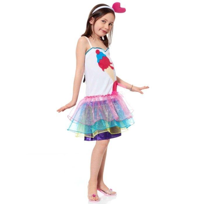 costume enfant Kiabi anniversaire serre-tete avec un coeur rose