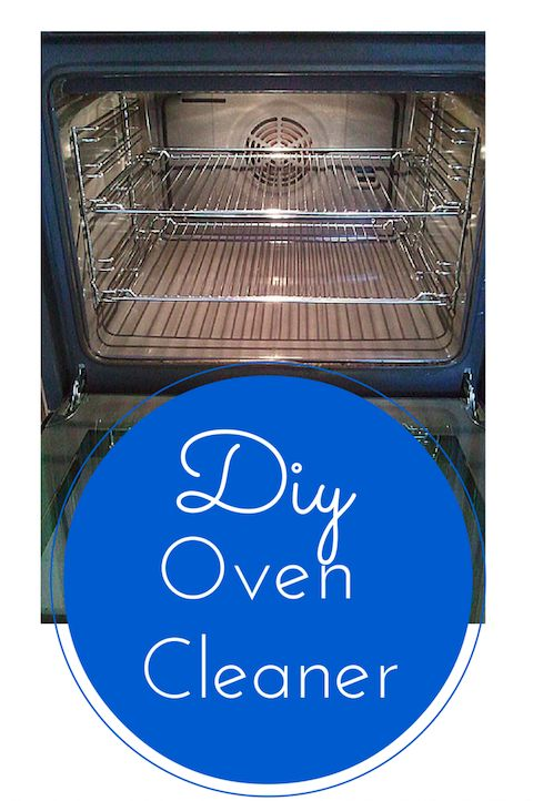 Make Your Own Oven Cleaner. It's cheaper and much safer for your home