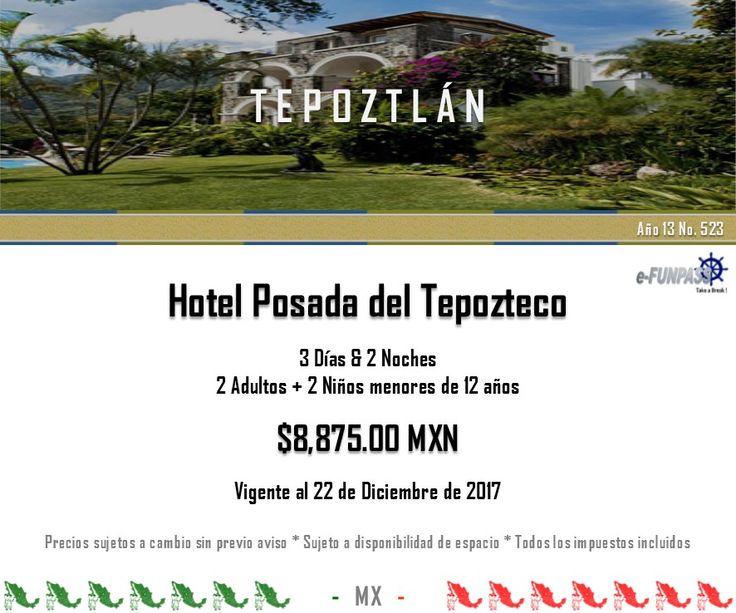 e-FUNPASS Año 13 No. 523 :) Tepoztlán