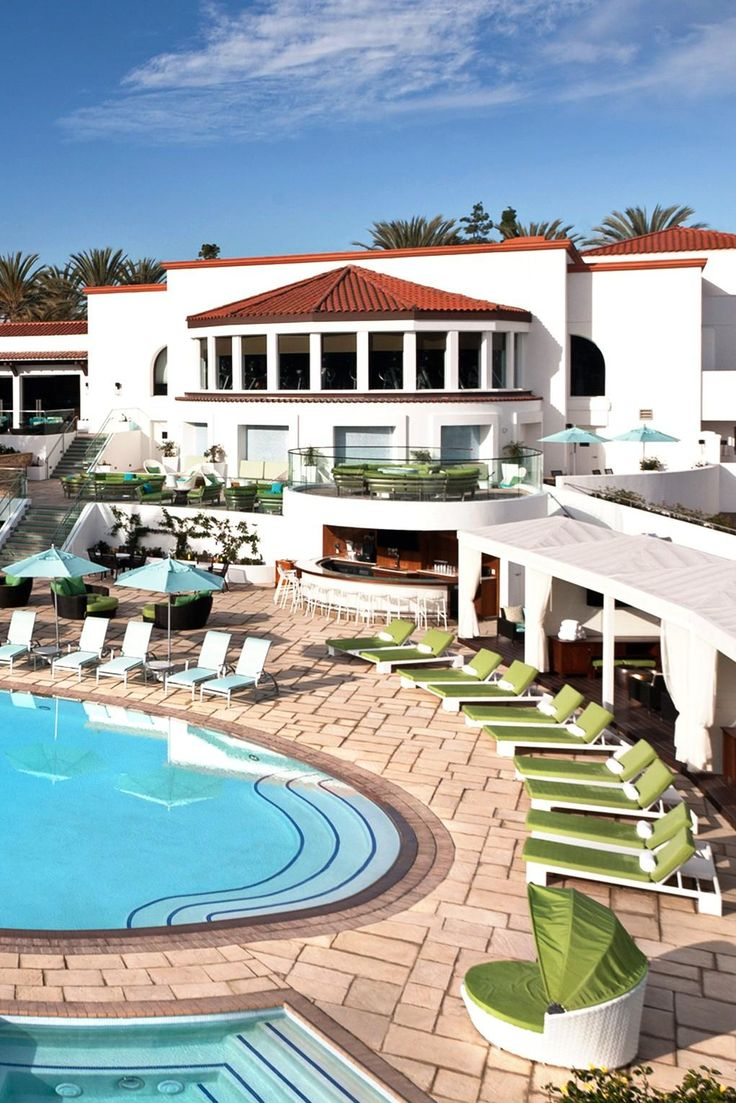California Map Rancho Mirage%0A Have your pick of eight different pools at the lush Omni La Costa Resort  outside San