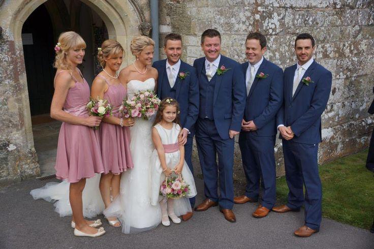 Matt and Mandy's wedding