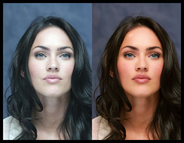 Models Before and After Retouching 20 Female Celebrities