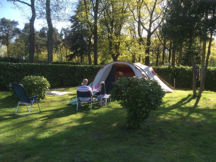 Camping de Kienehoef in Sint Oedenrode, mei 2016