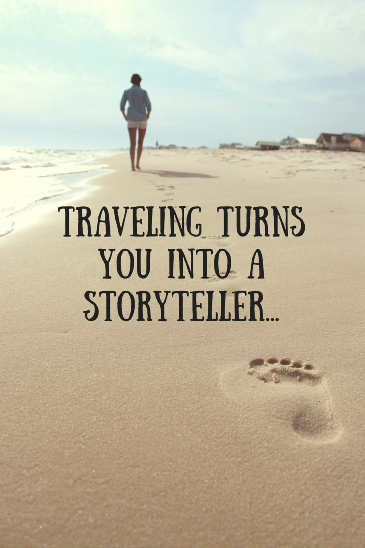 Create your Story! :) http://www.thelogicaltraveler.com/