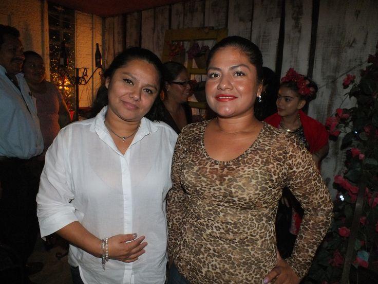 Maria Rodriguez y Estela de los Santos