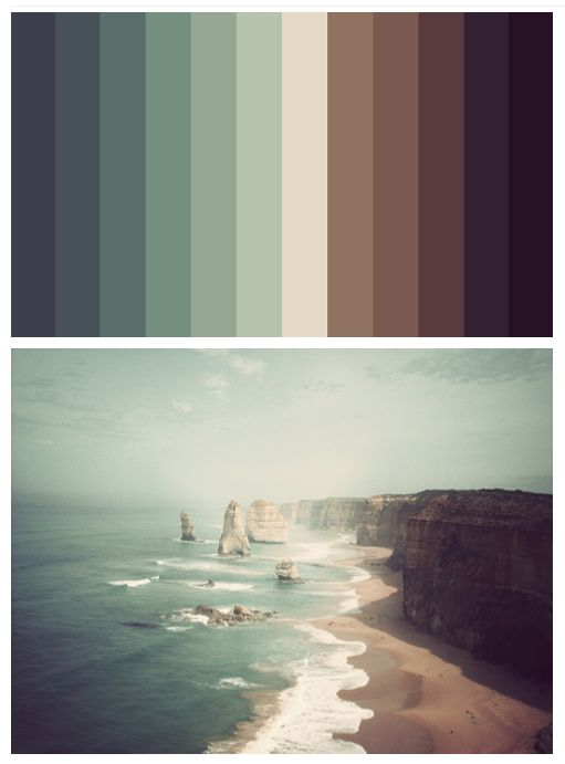 ooh. this would be a super fun project. color-match spectrum of a favorite photo. even more so if the spectrum was also collaged from photos, not just color matched on illustrator.
