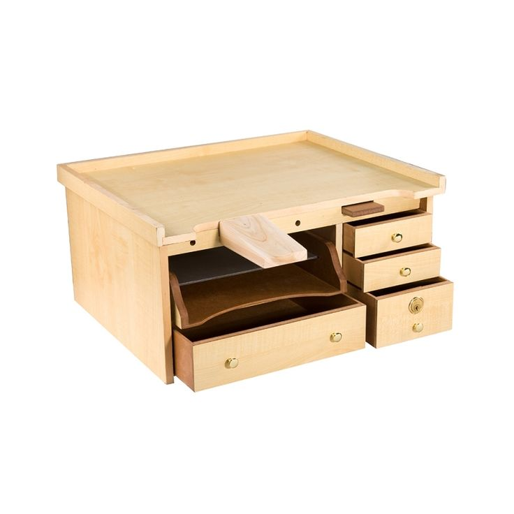 Mini Portable Work Table Top Work Station Ideal for Beading Jewelry Making Watch Repair  | Take to Arts and Craft Shows