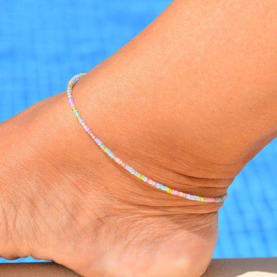 Pastel color Anklets