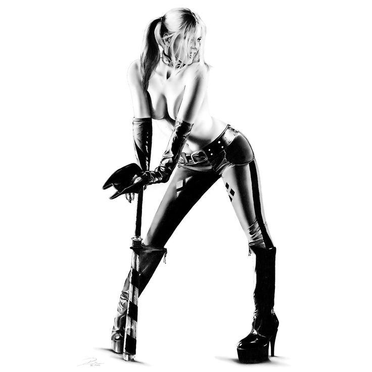 Bat Her Up, Dirk Richter on ArtStation at https://www.artstation.com/artwork/bat-her-up