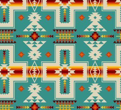 Tucson nativo tessuto stampa tribale da STUDIO di ELIZABETH dal cantiere mezzo ideale per/Quilters/abbigliamento/Crafting / Home Decor