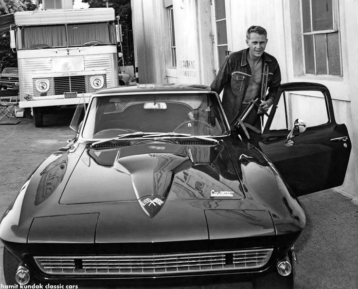 Mc Queen corvette Stingray 1966