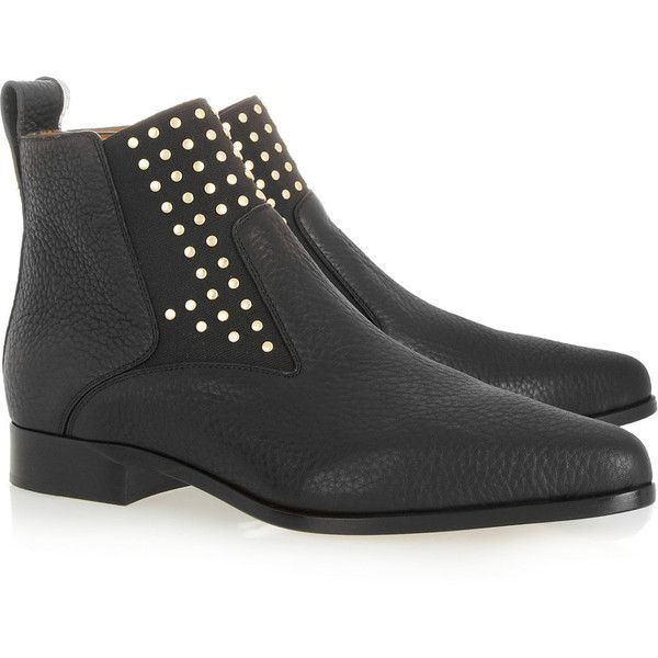 1000  ideas about Studded Ankle Boots on Pinterest | Chloe boots ...