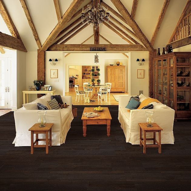 Set Your Own Trend with Hand Scraped Hardwood Flooring!