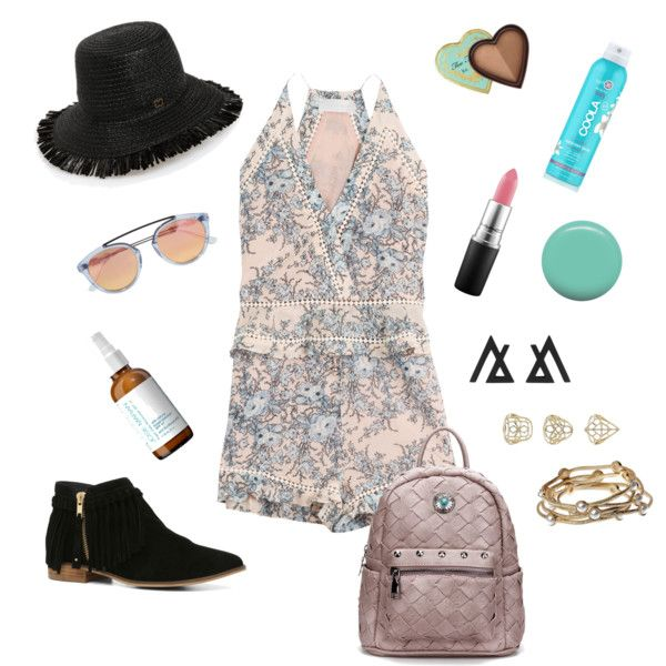 How to Style Your Playsuit by fashion-mama-aquarius on Polyvore featuring polyvore, moda, style, Zimmermann, ALDO, Majique, Topshop, Eric Javits, Westward Leaning and MAC Cosmetics