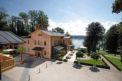 A perfect view - Lake Starnberg in the background