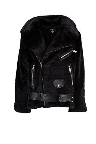 Boohoo Womens Lottie Boutique Oversized Faux Fur Aviator in Black size 6 Wrap up in the latest coats and jackets and get out-there with your outerwearBreathe life into your new season layering with the latest coats and jackets from boohoo. Supersize your silhouette in a padded jacket, stick to sporty styling with a bomber, or protect yourself from the elements in a plastic raincoat. For a more luxe layering piece, faux fur coats come in fondant shades and longline duster coa