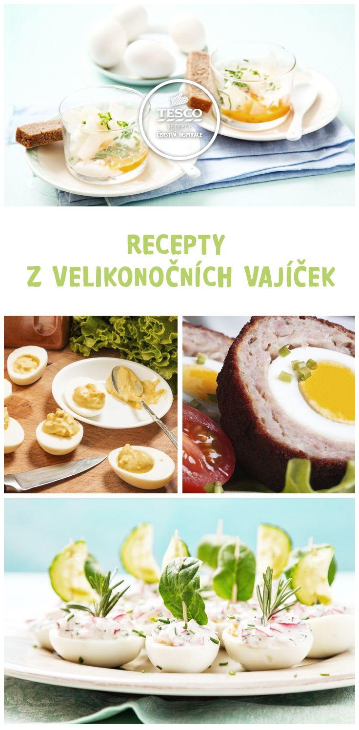Recepty z velikonočních vajíček  http://www.tescorecepty.cz/recepty/detail/479-velikonocni-skotske-vejce